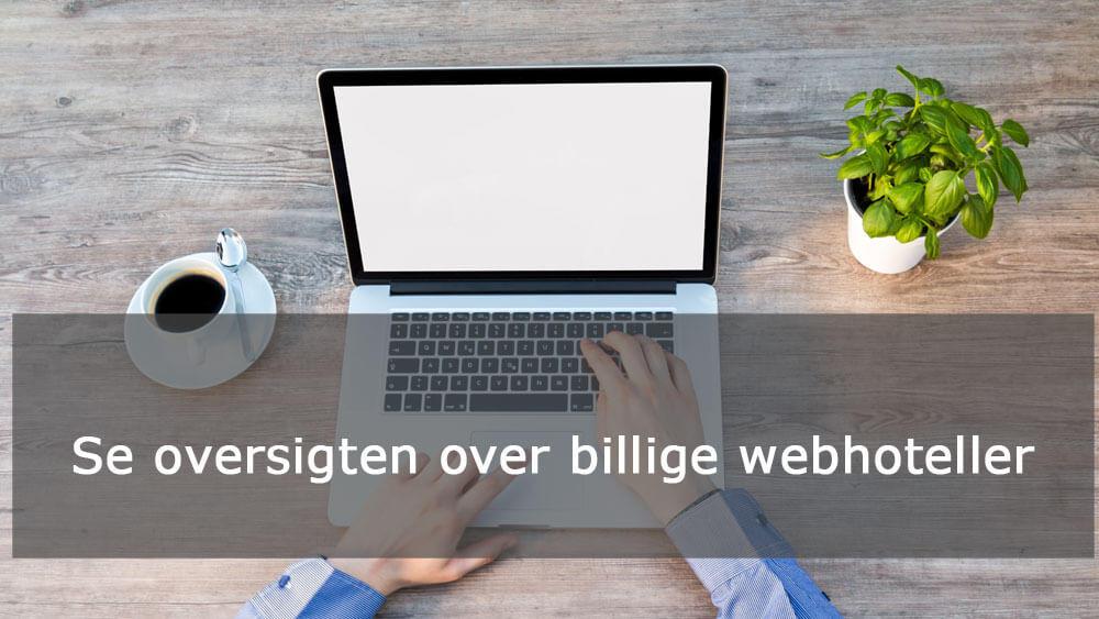 billige webhoteller