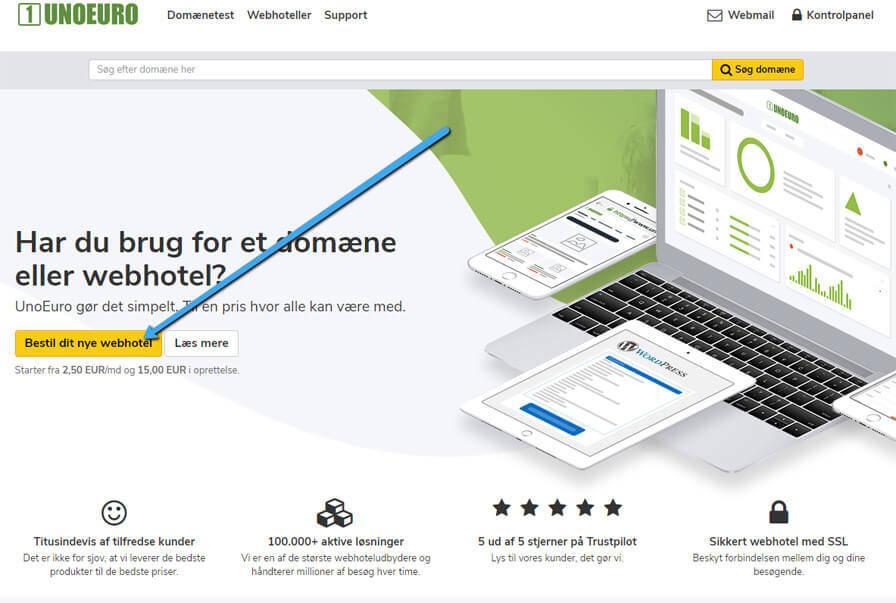bestil webhotel