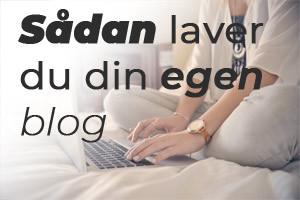 lav din egen blog